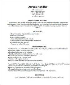 mental health job resume picture 9