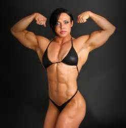 female muscle model clips picture 18