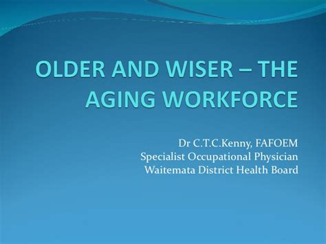 and the aging workforce picture 1