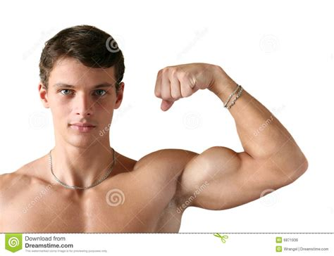 flexing muscle boys picture 6