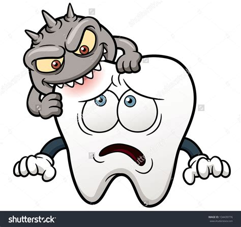 cartoon teeth picture 11