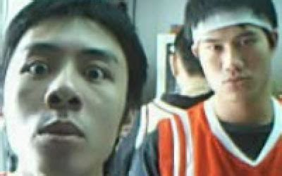 two chinese guys lip singing picture 6