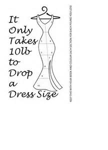 weight loss needed to drop dress size picture 1