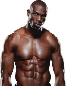 black man muscle abs picture 15