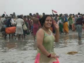 exbii of haridwar bathing picture 3