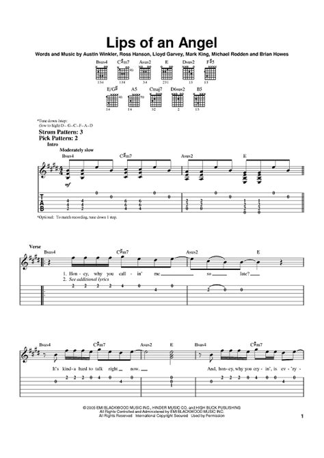 hinder- lips of an angel guitar tabs picture 8