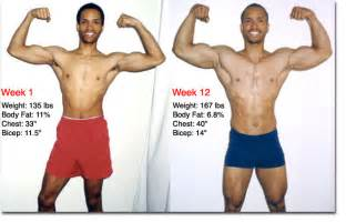 muscle vs fat weight gain picture 5
