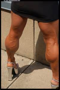 fat women muscle calves picture 3