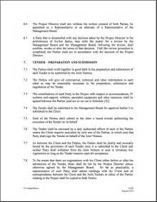 joint venture agreements picture 17
