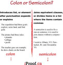 colon and semicolon picture 2