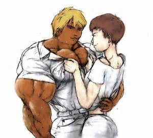 big mega growt murph muscle men art picture 2
