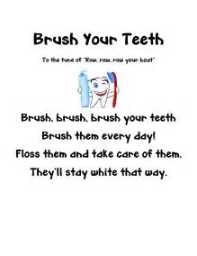 rhymes for healthy teeth picture 2