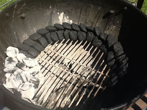 how much charcoal to use smoking meat picture 4
