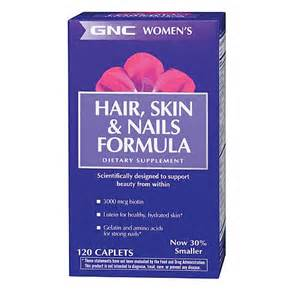 gnc's hair skin and nails review picture 1