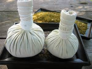 Thai herbal poultice picture 5
