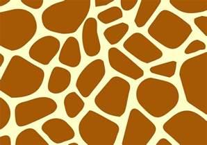giraffe skin print stencil picture 2