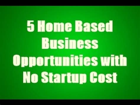 no cost home businesses picture 1