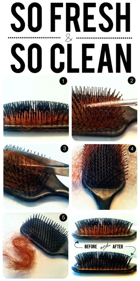 cleaning of hair brushes picture 11