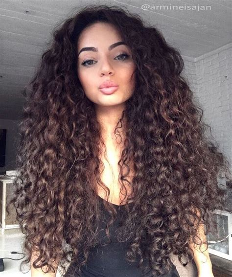 curly long hair picture 1