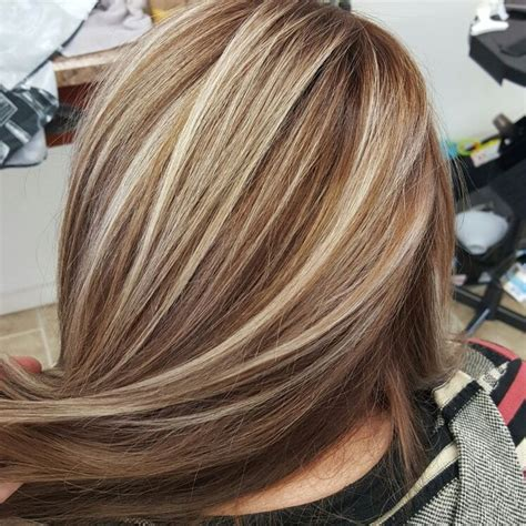 blonde highlights in brown hair picture 11