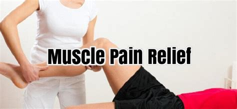muscle ache relief picture 5