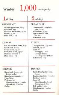 1000 calorie a day diet picture 1