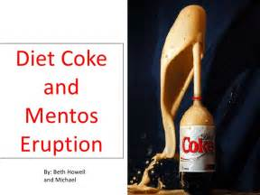 diet coke and mentos picture 2