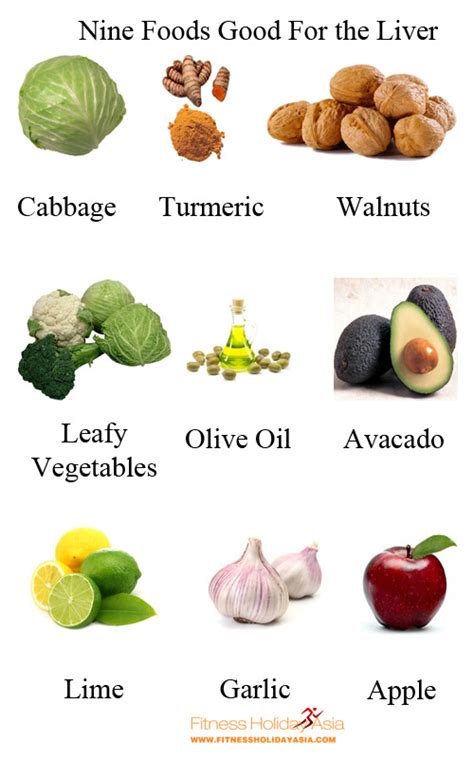 foods good for the liver picture 1
