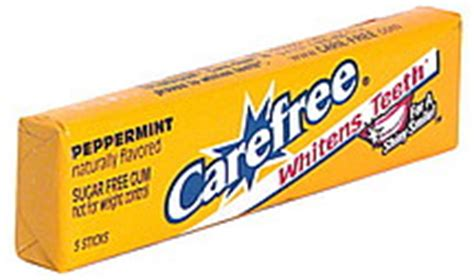 carefree peppermint gum picture 6
