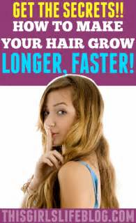 make hair go faster picture 13