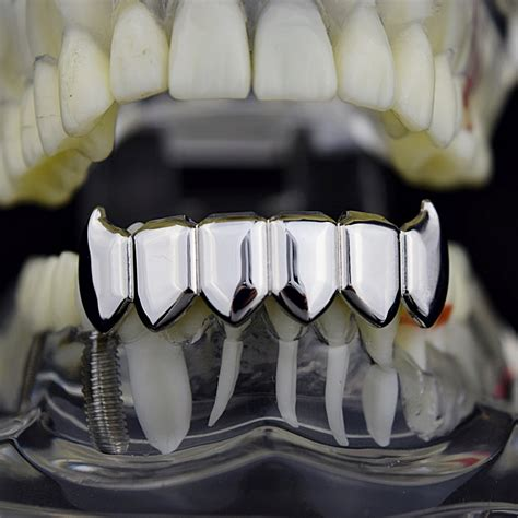 all cinds of teeth grizs gold and silver picture 14