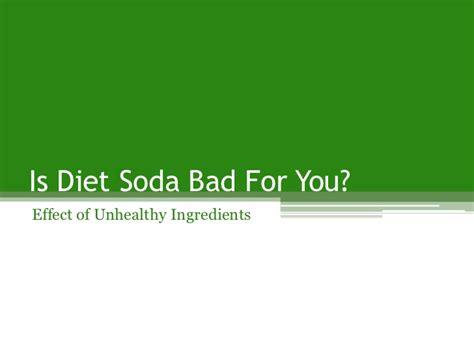 diet soda bad for you picture 6