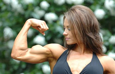 female flexing muscles picture 10