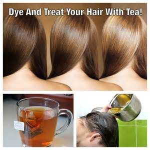 color gray hair with tea picture 5