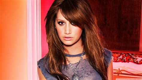 ashley tisdale with brown hair picture 10