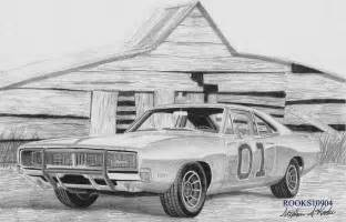 drawing old muscle cars picture 18