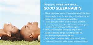good sleep habit and positions picture 2