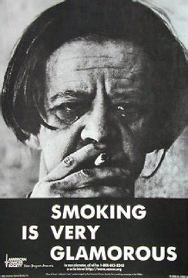 american cancer society dont smoke commercials 1970's father picture 2