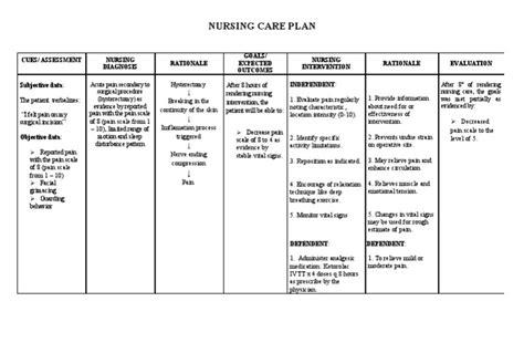 nurses care plan of utrion prolapes picture 8