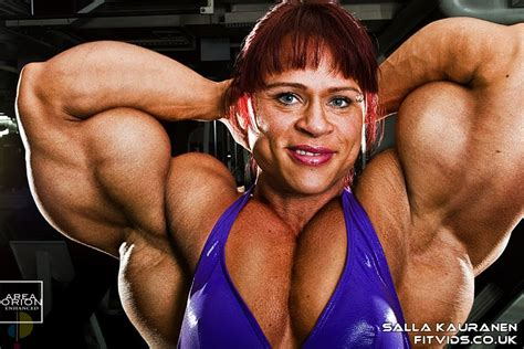 morphed muscle women picture 7