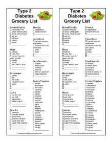 grocery list for diabetics picture 1