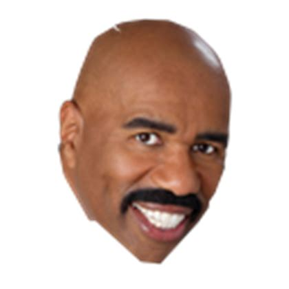 steve harvey is starting to get face wrinkles picture 1