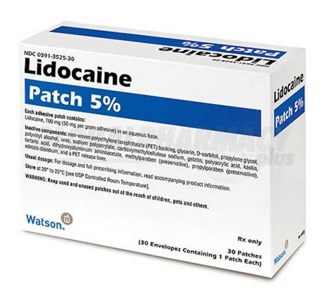 lidoderm skin patch picture 2
