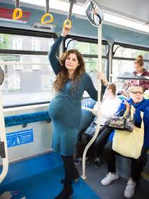 women tuching men on train or bus picture 3