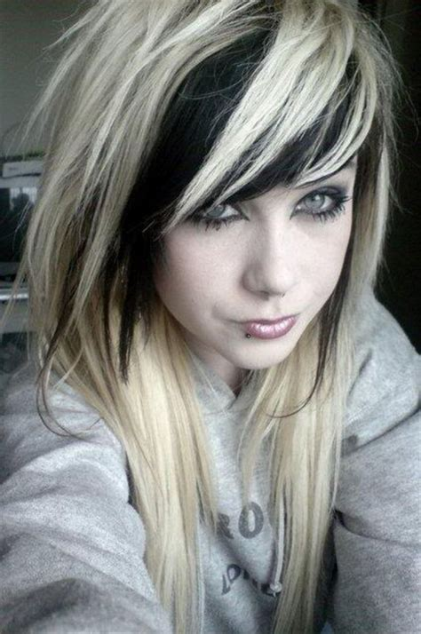 blonde hair with black hair underneath hairstyles picture 8
