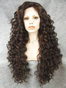 curly long hair wigs picture 5