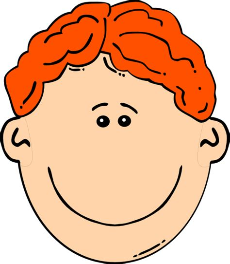 red hair cartoon boys picture 1