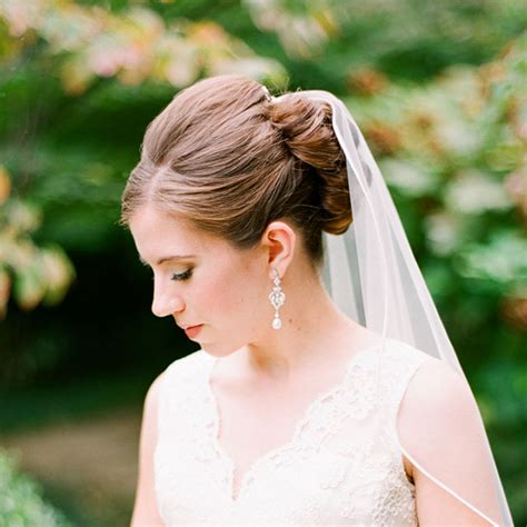 wedding hair styles wh veil picture 3