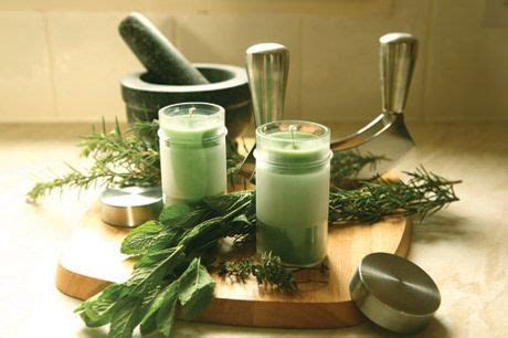 Herbal candlemaking picture 2