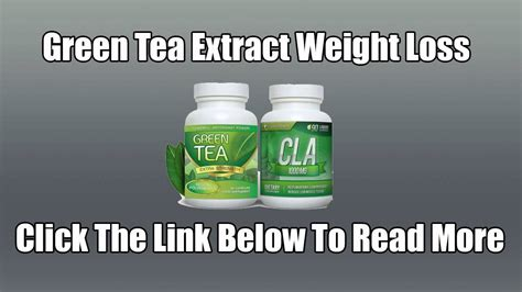 weight loss with green tea extract picture 2